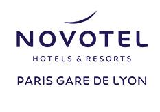 logo Novotel + Paris Gare de Lyon